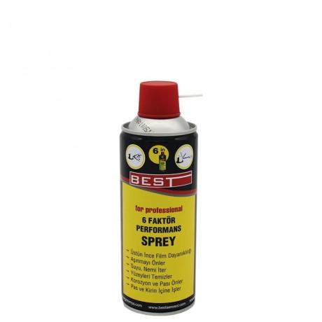 BEST 6 Factor Performance Spray 400 ML