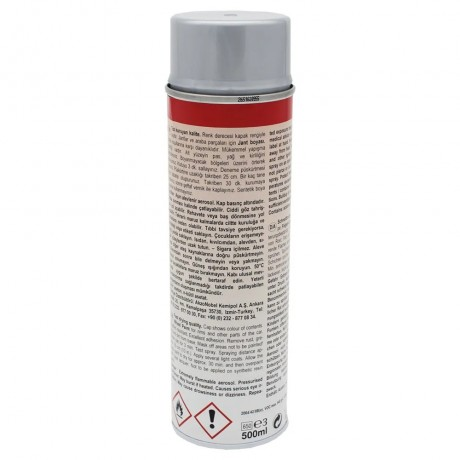 Rallye Spray Paint Rallye Lack Silver Grey 500 ML