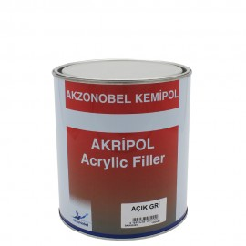 Akripol Acrylic Filler - Light Gray Primer Liter