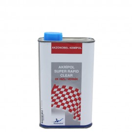 Akripol Super Rapid Clear 2K Quick Varnish 1 Liter
