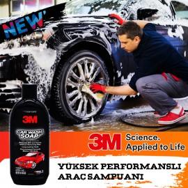 3M 39000 Wash & Wax Dye Protective Polished Shampo..
