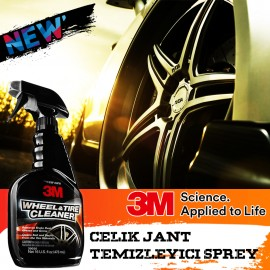 3M 39036 Steel Wheel Cleaner Polisher Care Spray