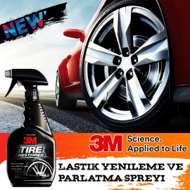 3M 39042 Tire Renewal and Polisher Spray 473 ML