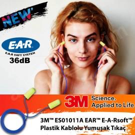 3M 1011-A Ses ve Gürültü Kesici Kulak İçi İpli Tıp..