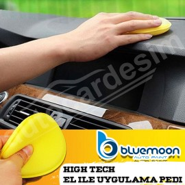 Bluemoon High Tech Cake and Polish Yellow Hand App..