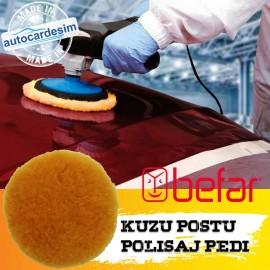 Befar Velcro Lambskin Orange Cake Pad