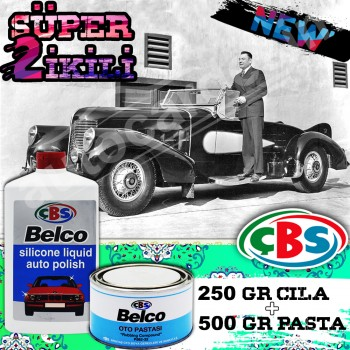 Super Dual - ÇBS Belco Cila 250ML + Scratch Remover Pie 500 Gr