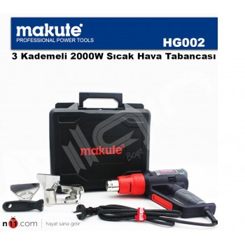 Makute HG002 2000W Professional 3 Stage Hot Air Gun