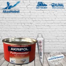 Akzonobel Kemipol Akripol Puttymaster Polyester Pu..