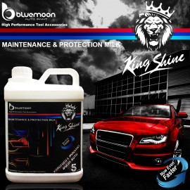 Bluemoon King Shine Preservative & Shine Care Milk..