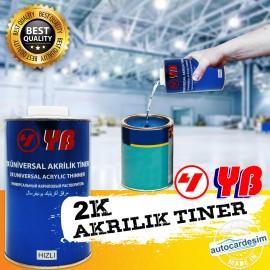 YB 2K Universal Acrylic Thinner 1 Liter