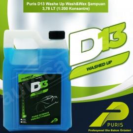 Puris D13 Washe Up Wash & Wax Shampoo 3,78 LT (1: ..