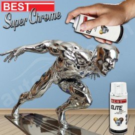 Best® Elite Effect Spray Paint - Chrome 400 ML