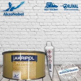 Akzonobel Kemipol Akripol Putty Metal Paste 1.5 KG