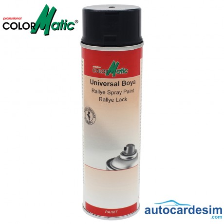 Rallye Spray Paint Rallye Lack - Black 500 ML