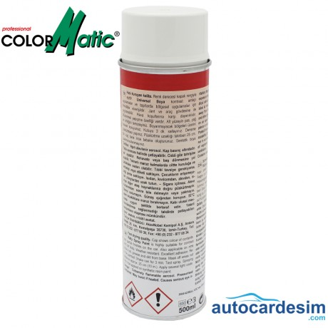 Rallye Spray Paint Rallye Lack - White 500 ML