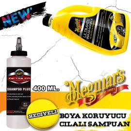 Meguiars 17748 Wash & Wax Paint Protective Yellow ..