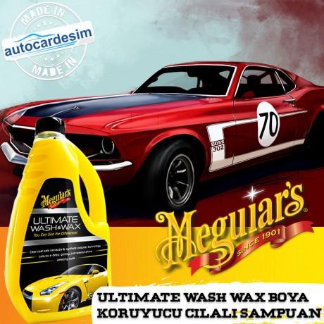 Meguiars Ultimate Wash & Wax Sparkling Paint Protector Shampoo 1.42Lt