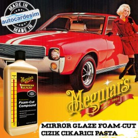 Meguiars 101 10132 Mirror Glaze Foam Cut Compound ..