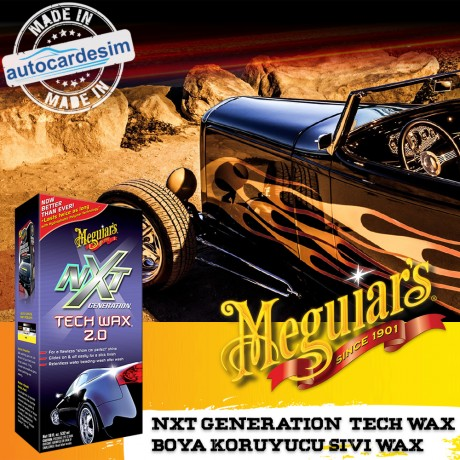 Meguiars NXT Generation Tech Wax 2.0 Paint Protective Liquid Wax Polish