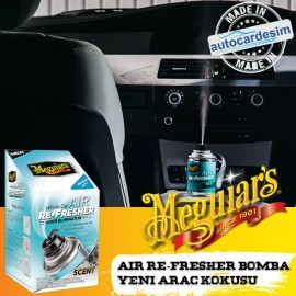 Meguiars 16402 Air Conditioning Cleaner Odor Remov..