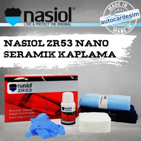 Nasiol ZR53 Ultra Nano Paint Protector 9H Ceramic Coating