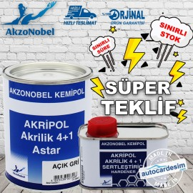 Akripol Acrylic 4+1 Primer and Hardener Kit