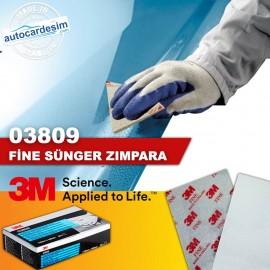 3M 03809 Fine Sponge Soft Sheet Sanding