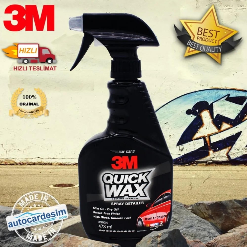 3M 39034 Practical Paint Protection - Fast Polish 473 ML