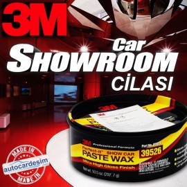3M 39526 Showroom Polish Fast Polishing Solid Wax ..