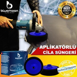 Bluemoon Applicator Polishing Soft Polish Sponge 1..