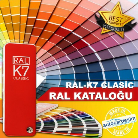 Ral K7 Color Chart Classic Glossy RAL Catalog