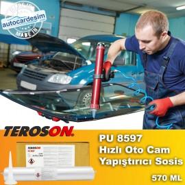 Teroson PU 8597 Fast Auto Glass Adhesive Sausage 5..