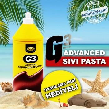 Farecla G3 Advenced Deep Scratch Remover Silicone-Free Powder-Free Liquid Car Paste 1 Liter