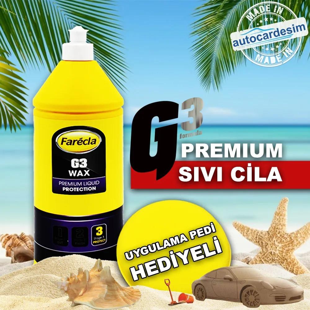 Farecla G3 Premium Wax Lacquer 1 Liter + Application Pad