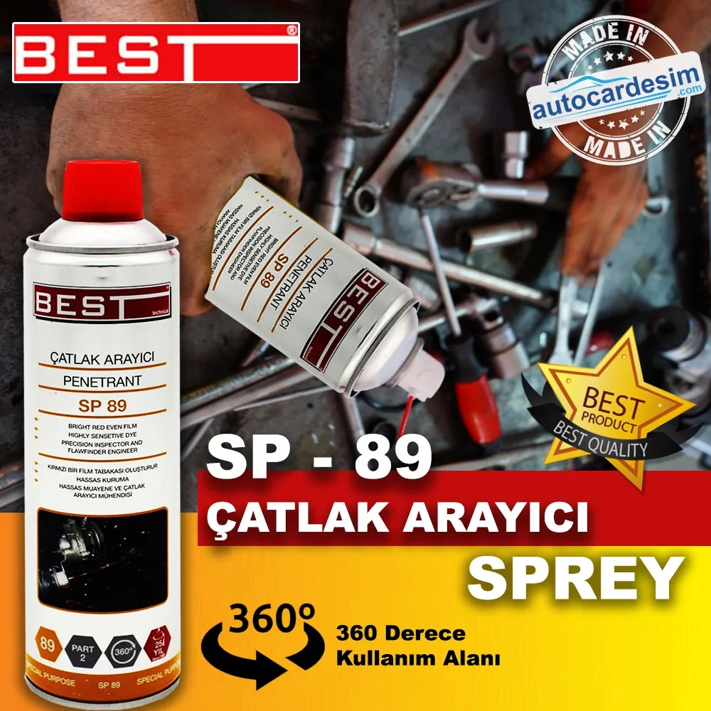 Best SP 89 Penetrant Mechanical Surface Crack Seeker Spray
