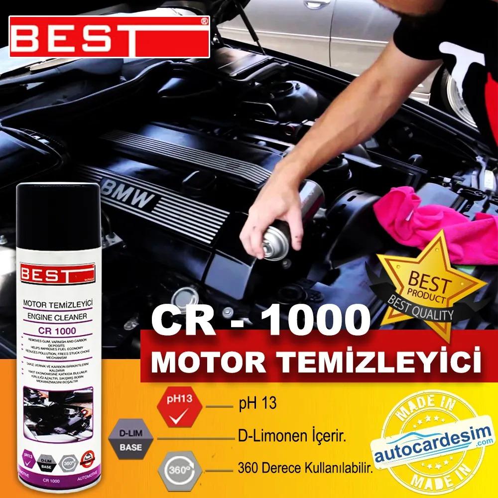 Best CR 1000 Spray Waterless Motor Cleaner Care Spray 500ML