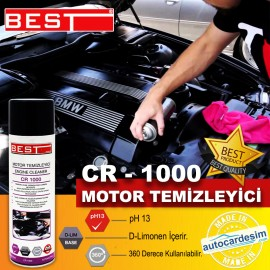 Best CR 1000 Spray Waterless Motor Cleaner Care Sp..