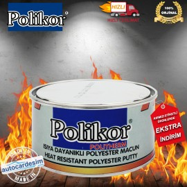 Polikor Politherm Heat Resistant Polyester Putty