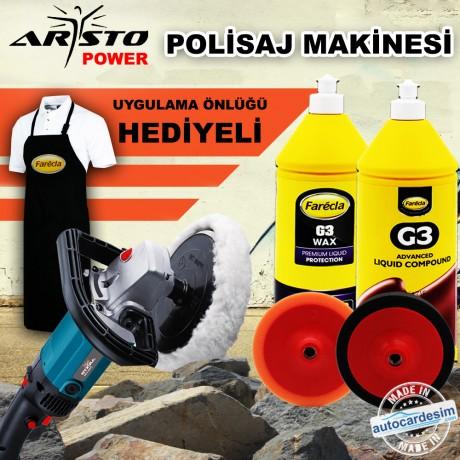 Aristo Professional Polishing Machine Sponge Campaign