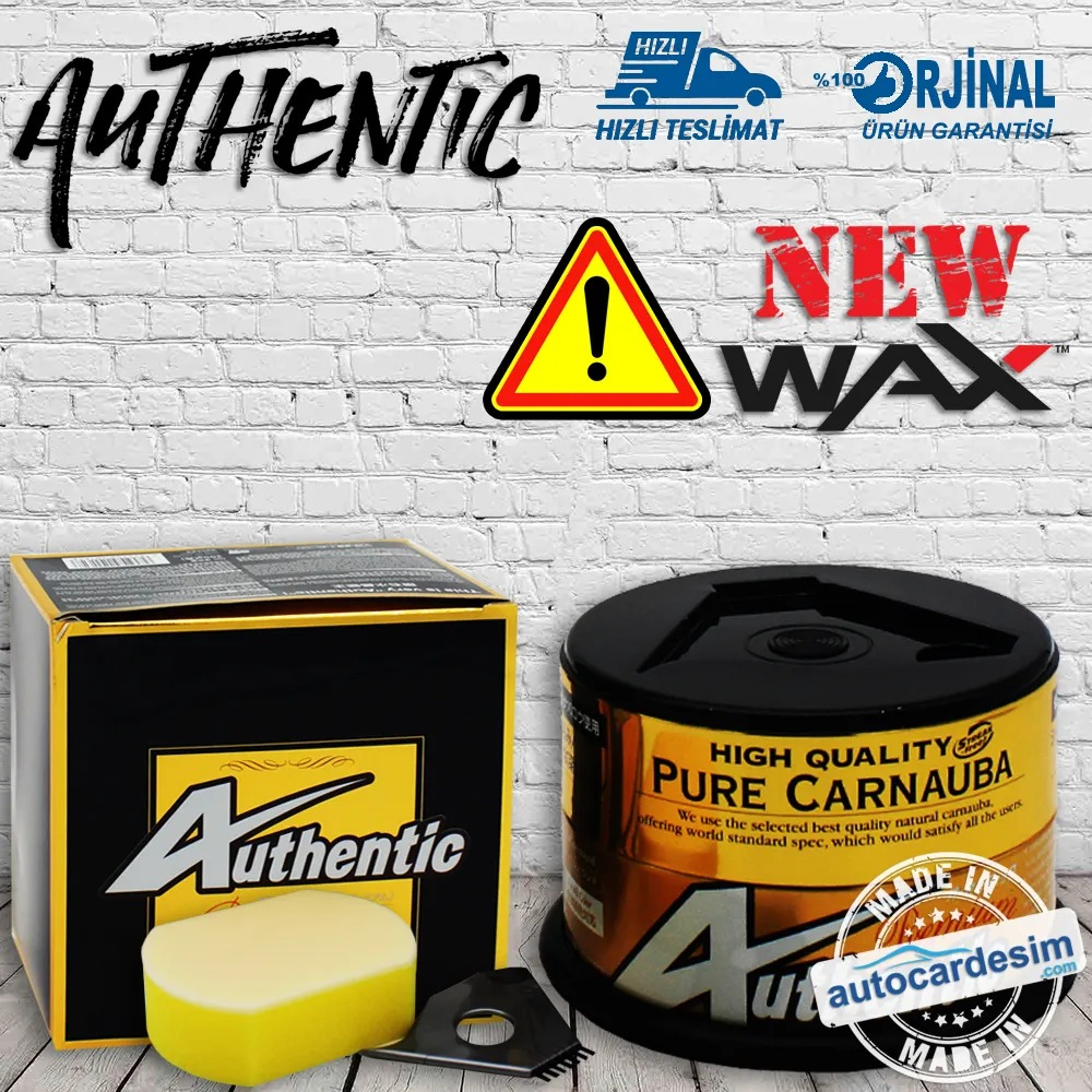 Soft99 Authentic Premium Carnauba Wax Paint Protection Polish 200Gram