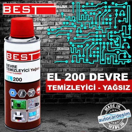 Best EL 200 Circuit Cleaner (Oil Free) 200 ML