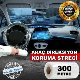 Direksiyon Koruma Streci - Kılıfı Şeffaf 12.5cm x ..