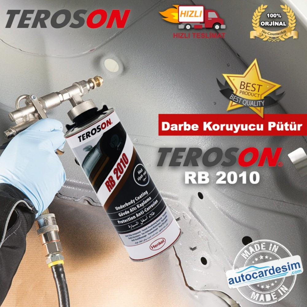 Teroson RB 2010 Impact Protective Heat and Sound Insulation