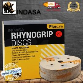 Indasa Rhynogrip Discs Plus Line - 7 Hole Disc Gri..