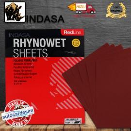 Indasa RedLine RhynoWet Wet/Dry Sanding Sheets