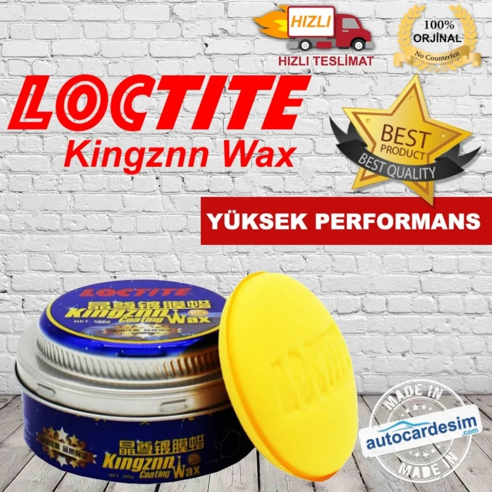 Henkel - Loctite Kingznn Katı Wax - Cila 280 Gr
