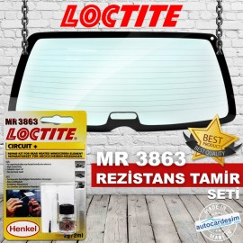 Loctite MR 3863 Resistance Repair Kit
